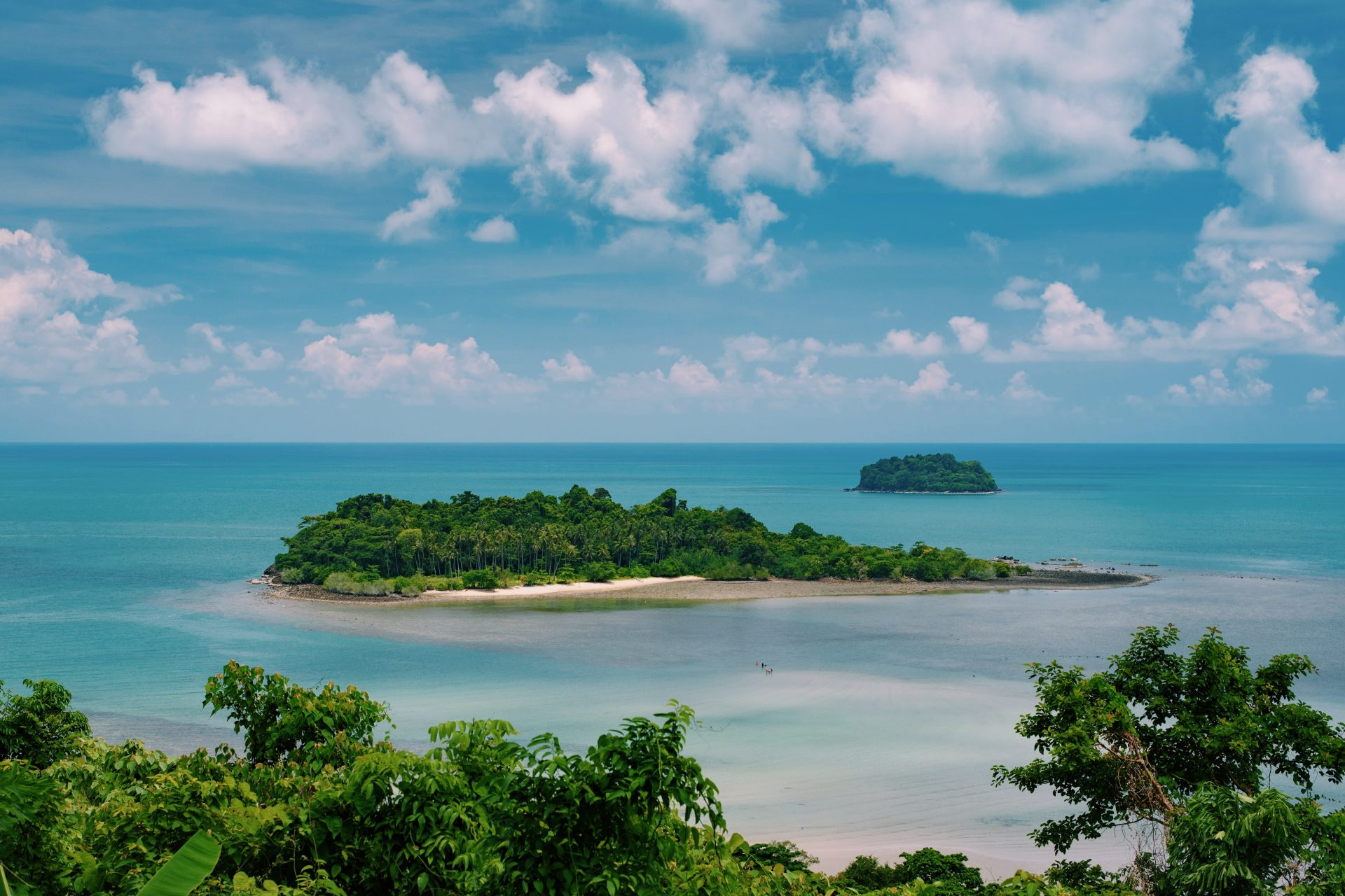 Koh Chang - Kae Bae Island from Sea View Hotel