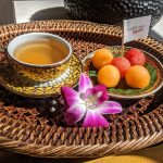 Fruits and Tea at Oasis Spa Chiang Mai